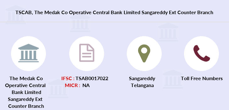 Co-operative-banks The-medak-co-operative-central-bank-limited-sangareddy-ext-counter branch