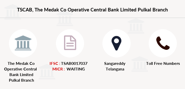 Co-operative-banks The-medak-co-operative-central-bank-limited-pulkal branch