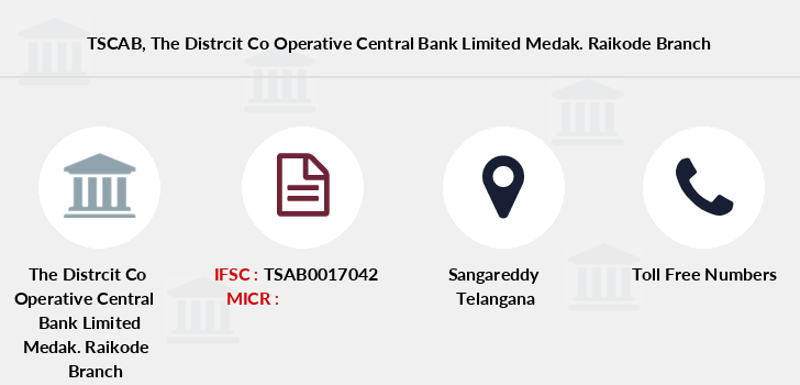 Telangana-state-coop-apex-bank The-distrcit-co-operative-central-bank-limited-medak-raikode branch