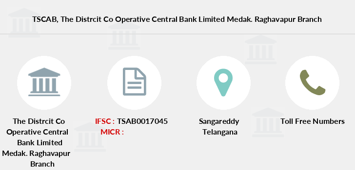 Telangana-state-coop-apex-bank The-distrcit-co-operative-central-bank-limited-medak-raghavapur branch