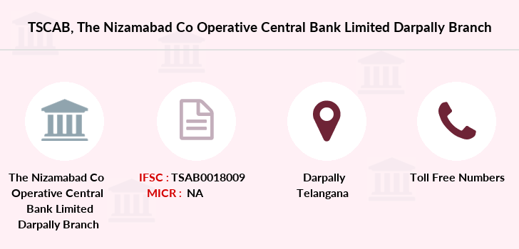 Co-operative-banks The-nizamabad-co-operative-central-bank-limited-darpally branch