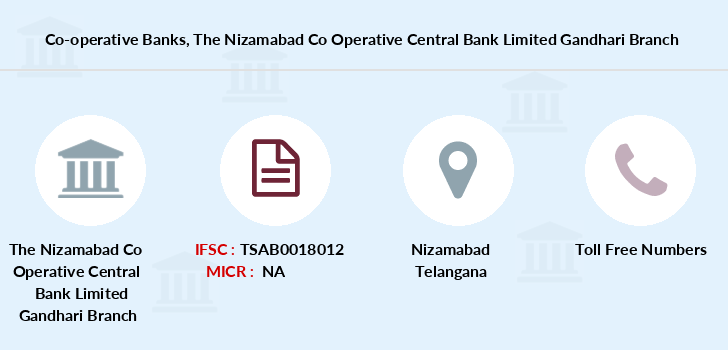 Co-operative-banks The-nizamabad-co-operative-central-bank-limited-gandhari branch