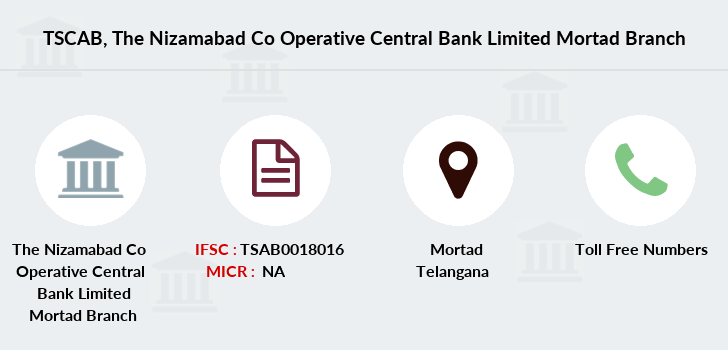 Co-operative-banks The-nizamabad-co-operative-central-bank-limited-mortad branch