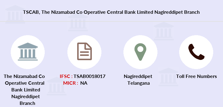 Co-operative-banks The-nizamabad-co-operative-central-bank-limited-nagireddipet branch