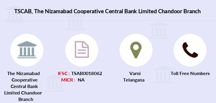 Telangana-state-coop-apex-bank The-nizamabad-cooperative-central-bank-limited-chandoor branch