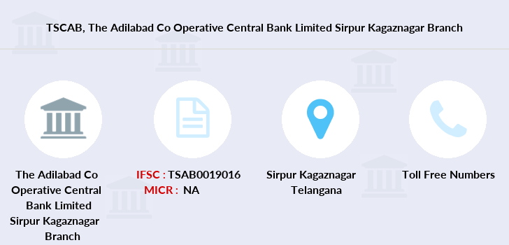 Co-operative-banks The-adilabad-co-operative-central-bank-limited-sirpur-kagaznagar branch