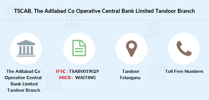 Telangana-state-coop-apex-bank The-adilabad-co-operative-central-bank-limited-tandoor branch