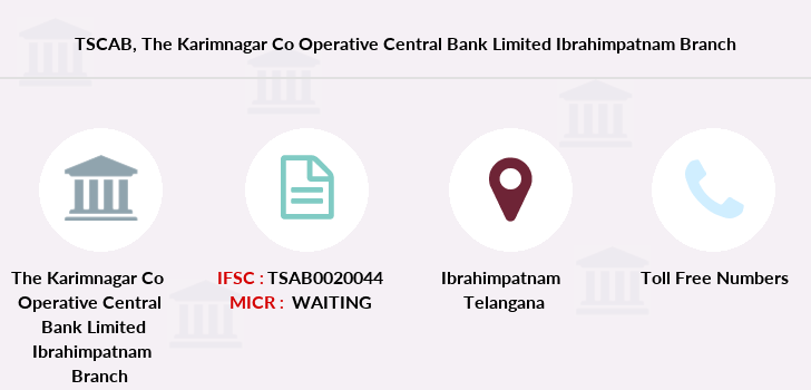 Co-operative-banks The-karimnagar-co-operative-central-bank-limited-ibrahimpatnam branch