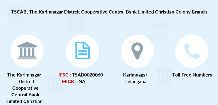 Telangana-state-coop-apex-bank The-karimnagar-distrcit-cooperative-central-bank-limited-christian-colony branch