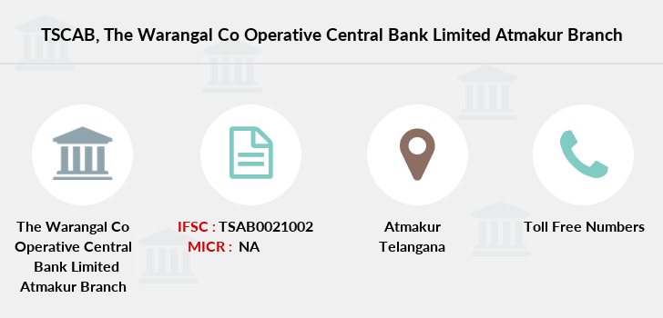 Co-operative-banks The-warangal-co-operative-central-bank-limited-atmakur branch