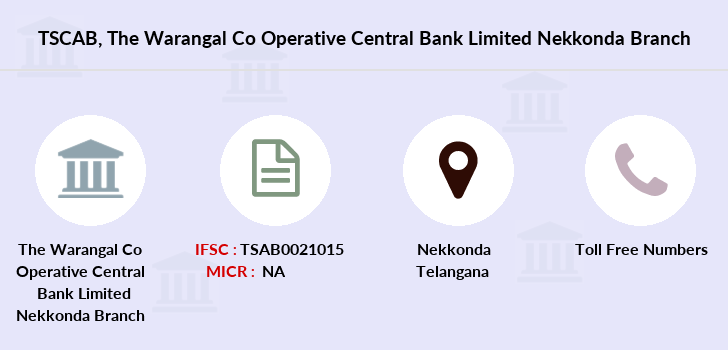 Co-operative-banks The-warangal-co-operative-central-bank-limited-nekkonda branch