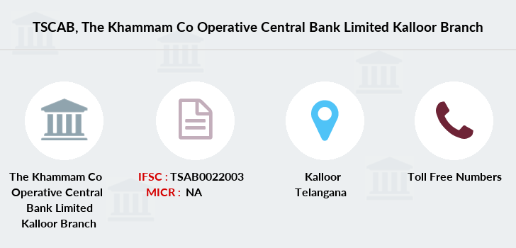 Co-operative-banks The-khammam-co-operative-central-bank-limited-kalloor branch