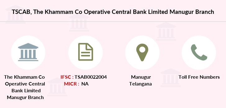 Co-operative-banks The-khammam-co-operative-central-bank-limited-manugur branch