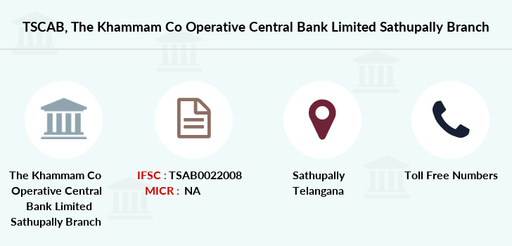 Co-operative-banks The-khammam-co-operative-central-bank-limited-sathupally branch