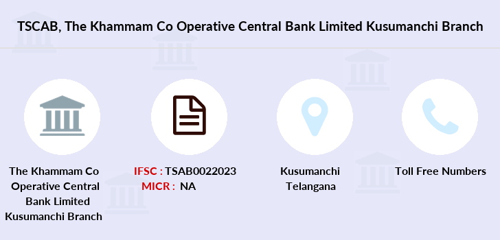 Co-operative-banks The-khammam-co-operative-central-bank-limited-kusumanchi branch