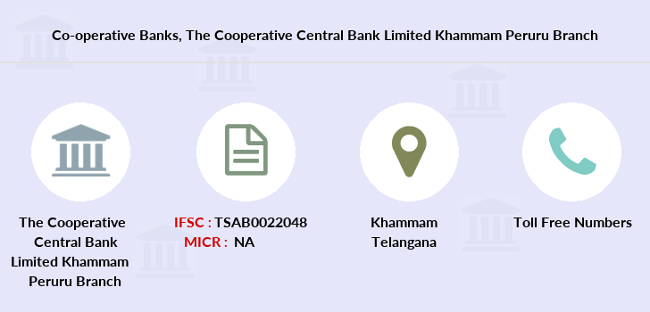 Co-operative-banks The-cooperative-central-bank-limited-khammam-peruru branch