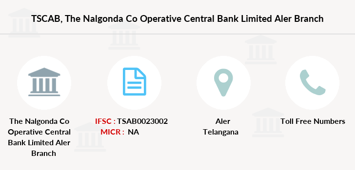 Co-operative-banks The-nalgonda-co-operative-central-bank-limited-aler branch