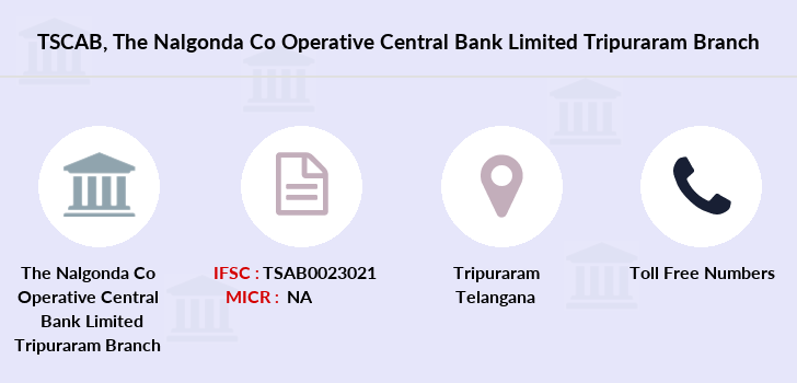 Co-operative-banks The-nalgonda-co-operative-central-bank-limited-tripuraram branch