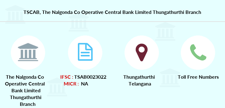 Co-operative-banks The-nalgonda-co-operative-central-bank-limited-thungathurthi branch