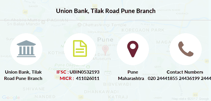 state bank of india tilak road branch pune ifsc code