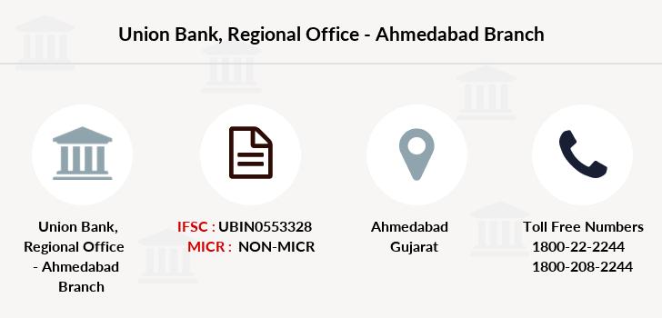 bank of india regional office ahmedabad address
