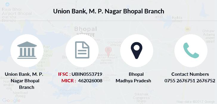 union bank of india malviya nagar bhopal contact number