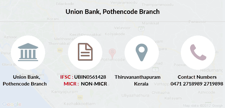 Union-bank-of-india Pothencode branch