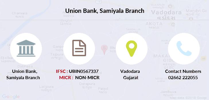 ifsc code of union bank of india baroda gujarat