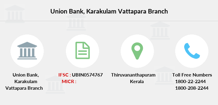 Union-bank-of-india Karakulam-vattapara branch