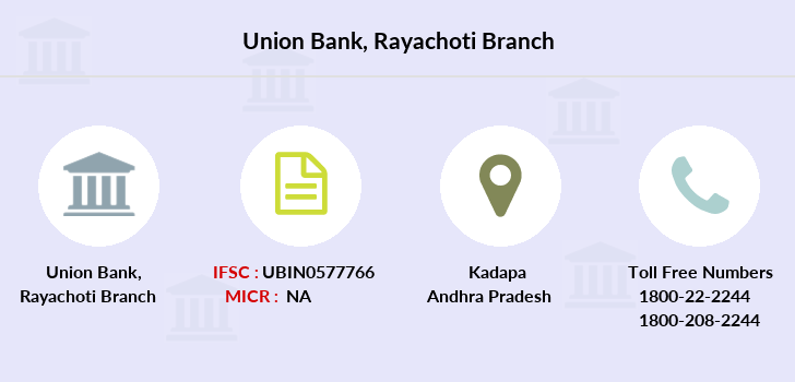 Union-bank-of-india Rayachoti branch