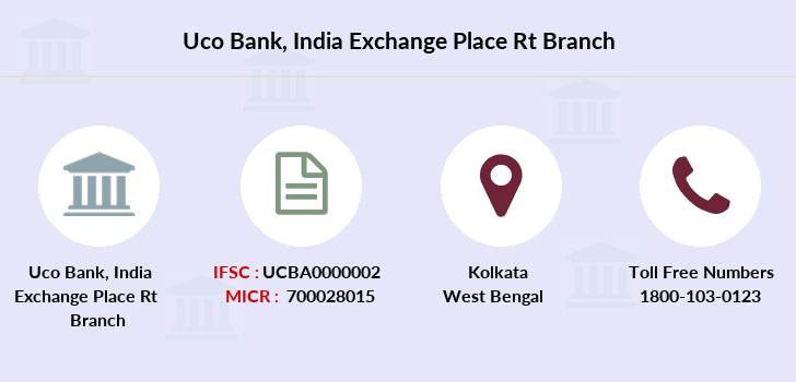 Uco-bank India-exchange-place-rt branch
