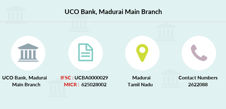 Uco-bank Madurai-main branch
