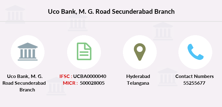 Uco-bank M-g-road-secunderabad branch