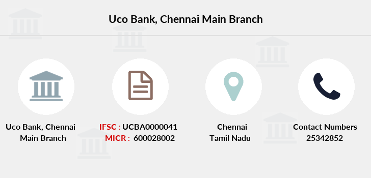 Uco-bank Chennai-main branch