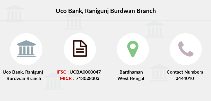 Uco-bank Ranigunj-burdwan branch