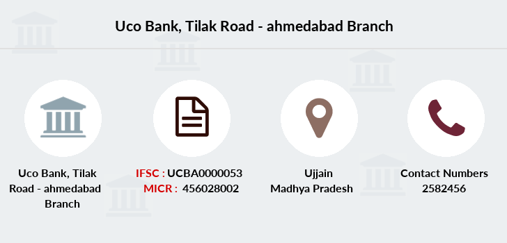 Uco-bank Tilak-road-ahmedabad branch