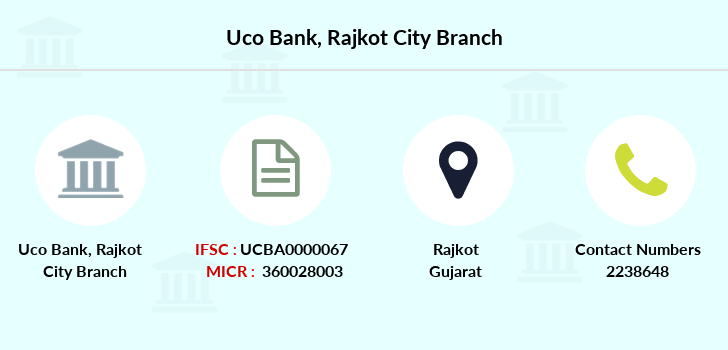 Uco-bank Rajkot-city branch
