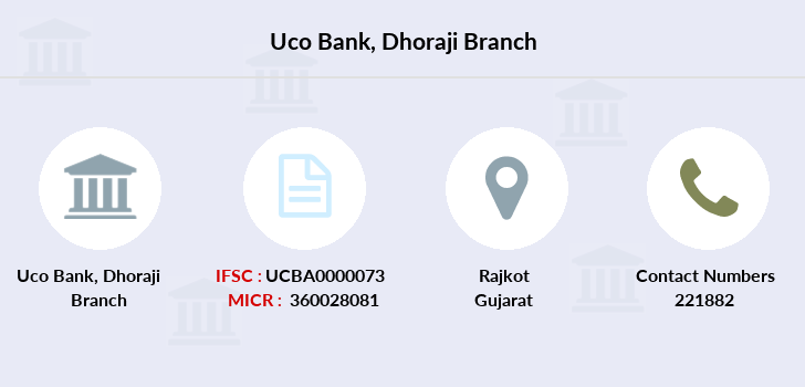 Uco-bank Dhoraji branch