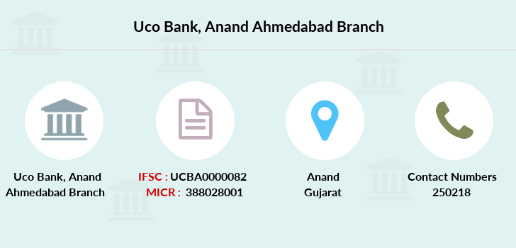 Uco-bank Anand-ahmedabad branch