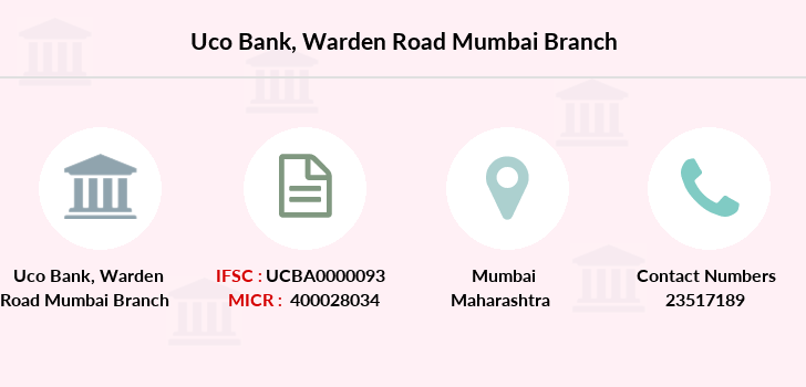 Uco-bank Warden-road-mumbai branch