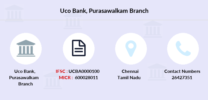 Uco-bank Purasawalkam branch