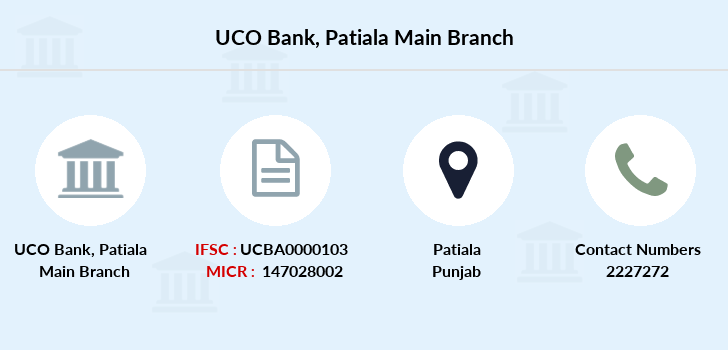 Uco-bank Patiala-main branch