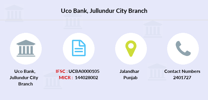 Uco-bank Jullundur-city branch