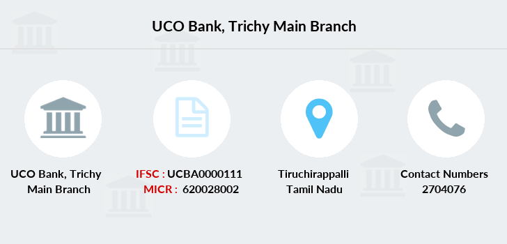 Uco-bank Trichy-main branch