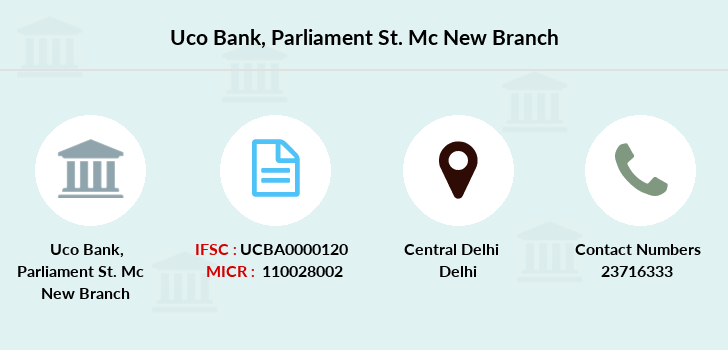 Uco-bank Parliament-st-mc-new branch