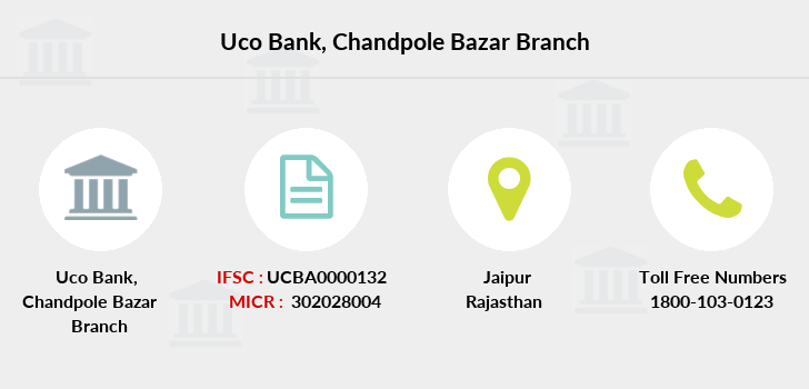 Uco-bank Chandpole-bazar branch