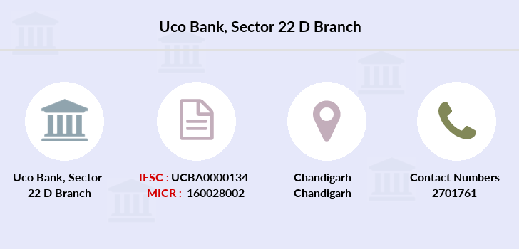 Uco-bank Sector-22-d branch