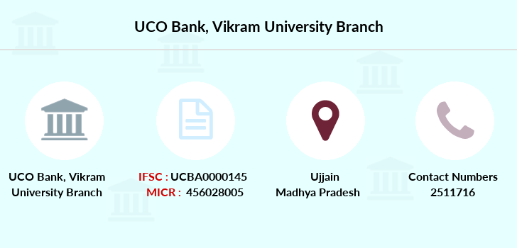Uco-bank Vikram-university branch