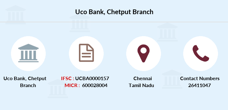 Uco-bank Chetput branch