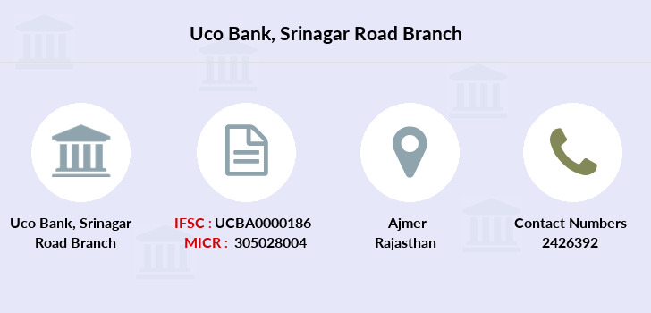 Uco-bank Srinagar-road branch